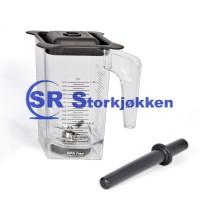 1,5 liters beholder til Blender TB-2000